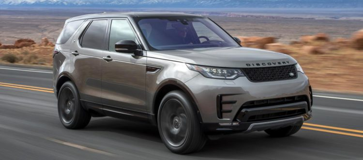 Action shot of the 2017 DISCOVERY LAND ROVER – NEW AND BOLDER